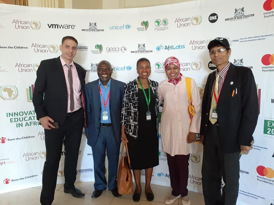 Selection of Vlaby platform to participate in the Africa Education Innovation Conference